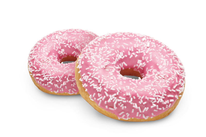 Back-Factory Pink Donut
